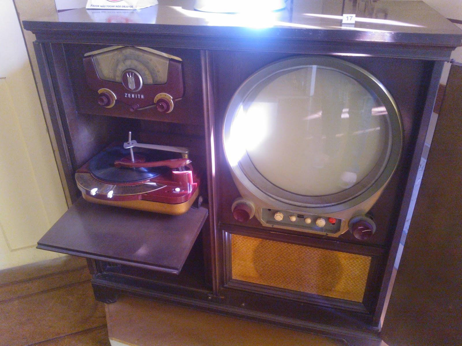 televisão de 1952 - Museu da Energia, Itu-SP