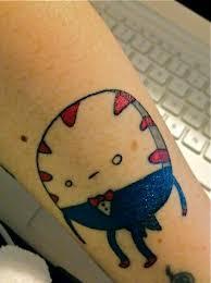Tatuaje de mentita hora de aventura tattoo adventure for Charlie cu tattoo