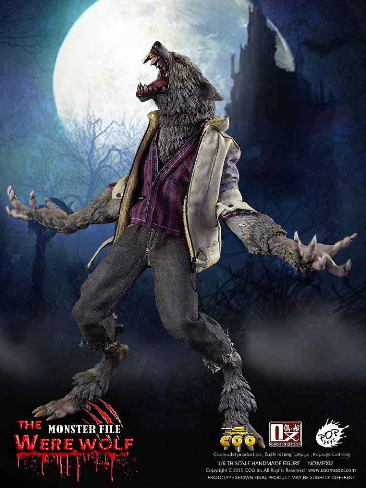 COOMODEL X OUZHIXIANG - Monster File Series - The Were Wolf E10