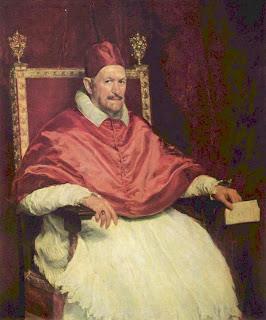 Papa Inocencio X - Diego Velázquez
