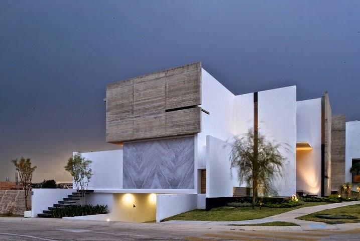 Arquitectura casa x agraz arquitectos el as rizo for Casas largas y estrechas