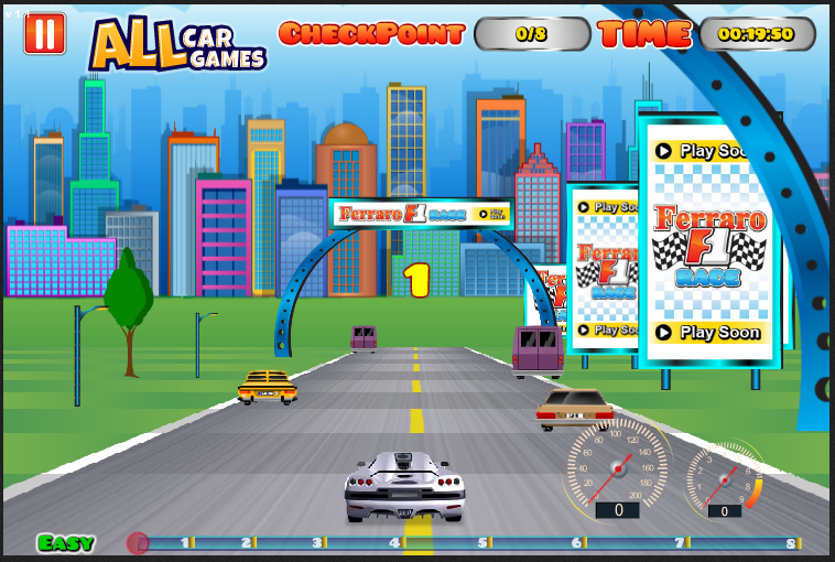 Car Games On Funbrain