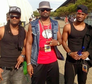 Paul, Jude and Peter Okoye