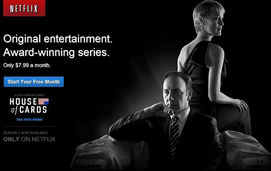 Regarder House of Cards saison 2 sur Netflix