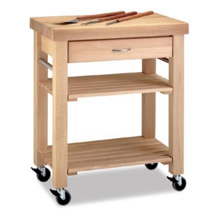 carro cocina auxiliar madera tu cocina y ba o