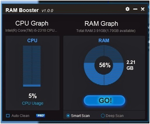 Improve PC Performance using Free RAM Optimizer Tools_FunWidTricks.Com