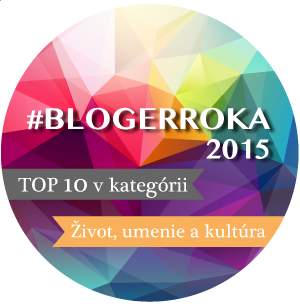 Bloger roka 2015 -    4. miesto