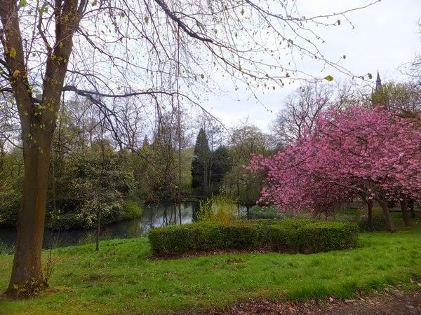 Glasgow Scotland écosse West End kelvingrove park