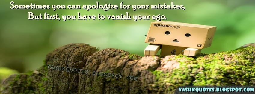 yash quotes apologize for ego fb cover