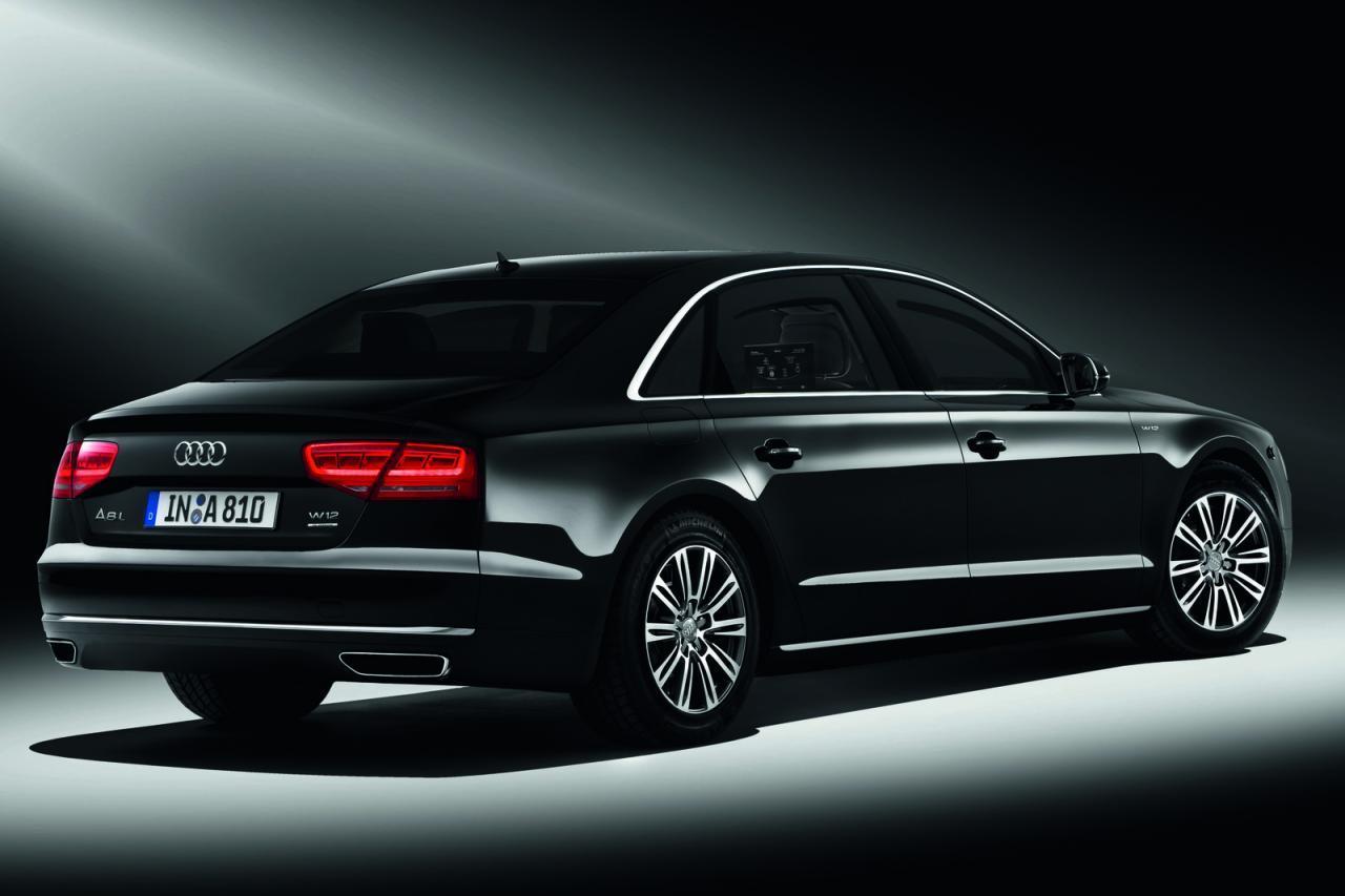 Agamemnon Audi A8 L Security