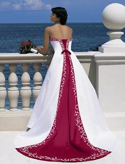 Vestidos de noivas coloridos 01
