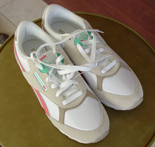 New Reebok Tennis Shoes Vicky bought on her shopping trip