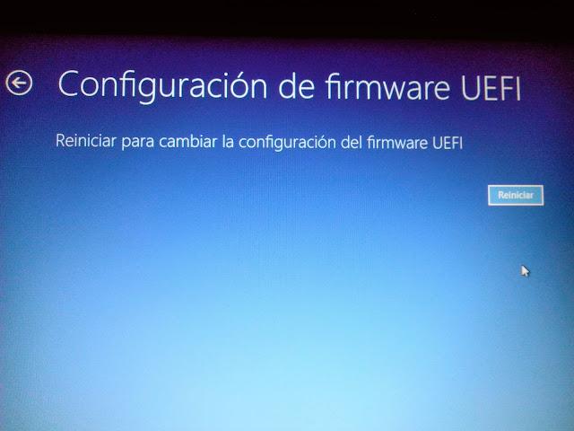 Como desactivar el Secure Boot y UEFI.