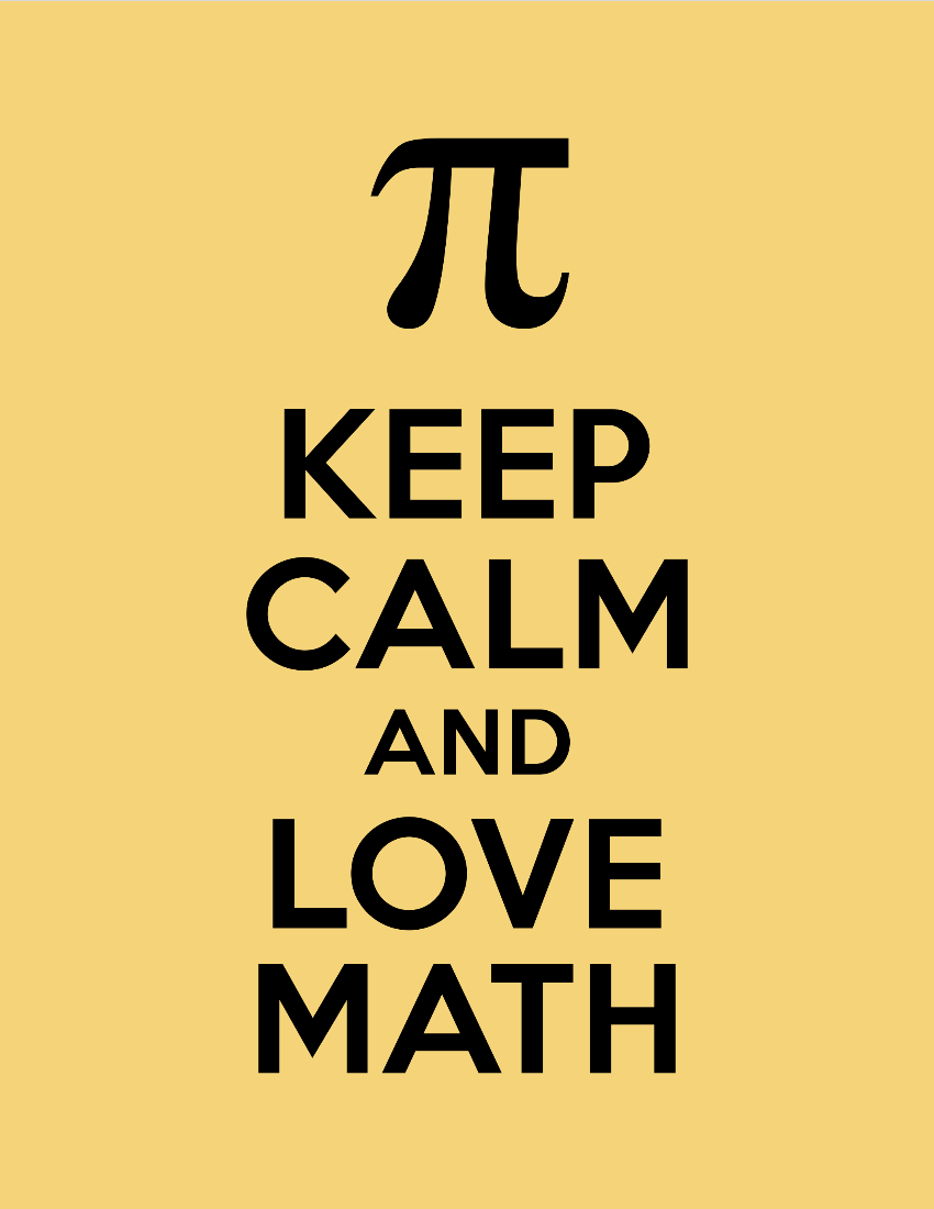 free to download keep calm and love math