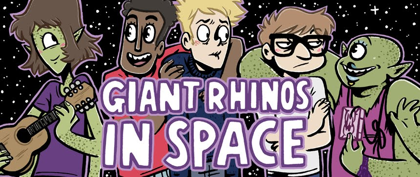 Giant Rhinos IN SPACE