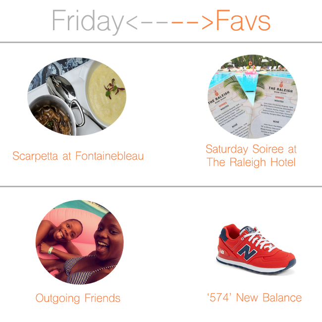 Friday Faves: Great Friends, Good Eats, Local Spots