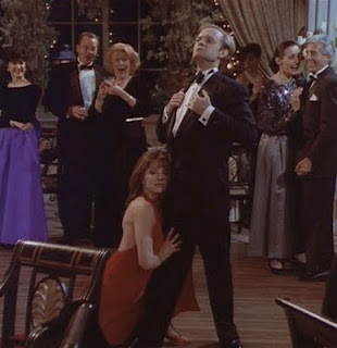 Niles and Daphne on the dance floor
