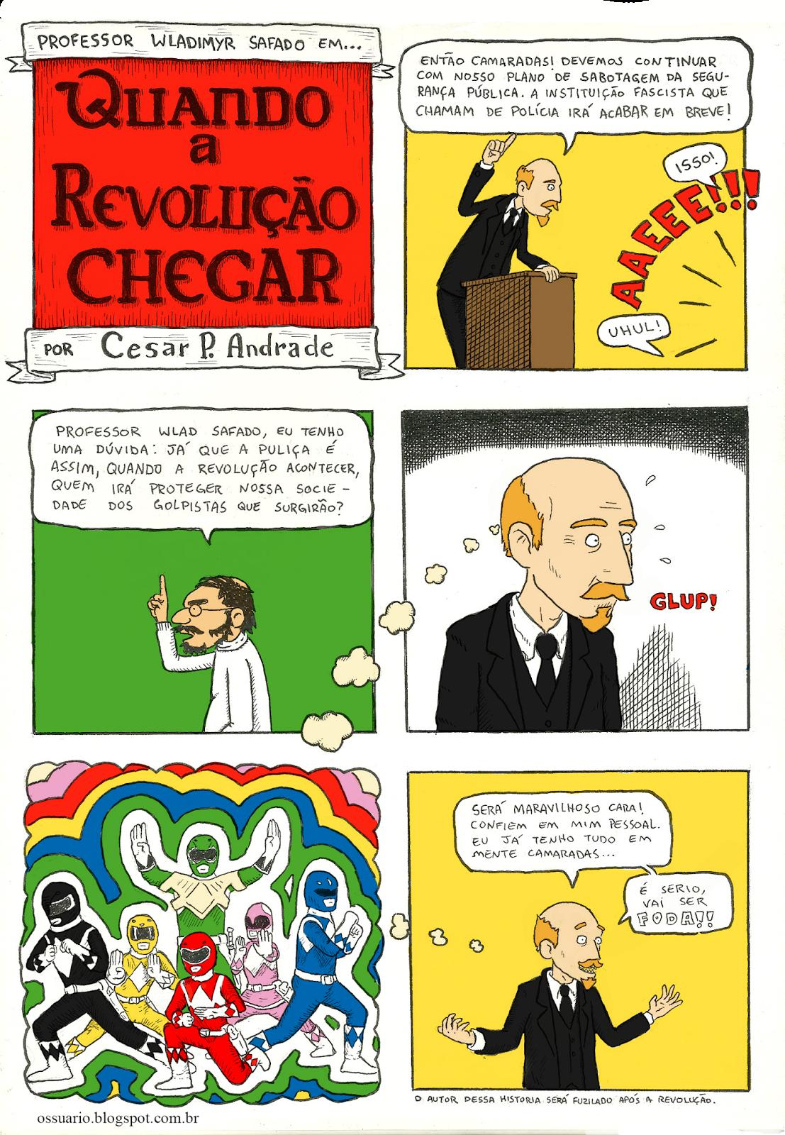 hq sobre revolucionários