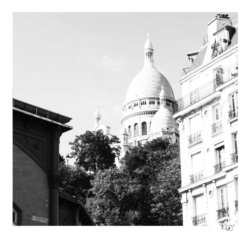 Paris en noir et blanc 7