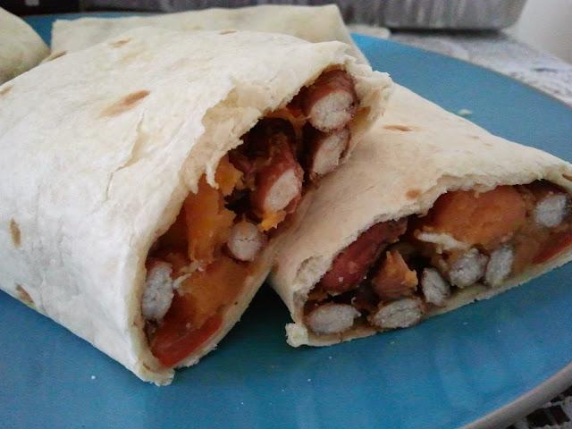 beans burrito