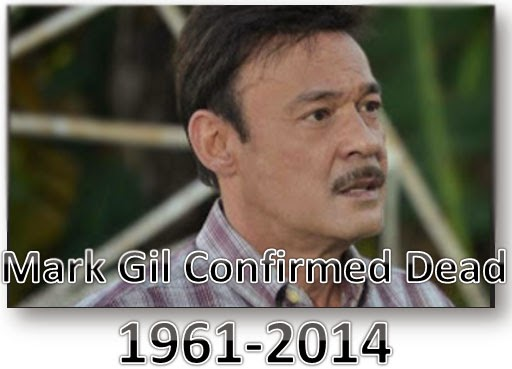 Mark Gil Confrimed Death by Liver Cirrhosis