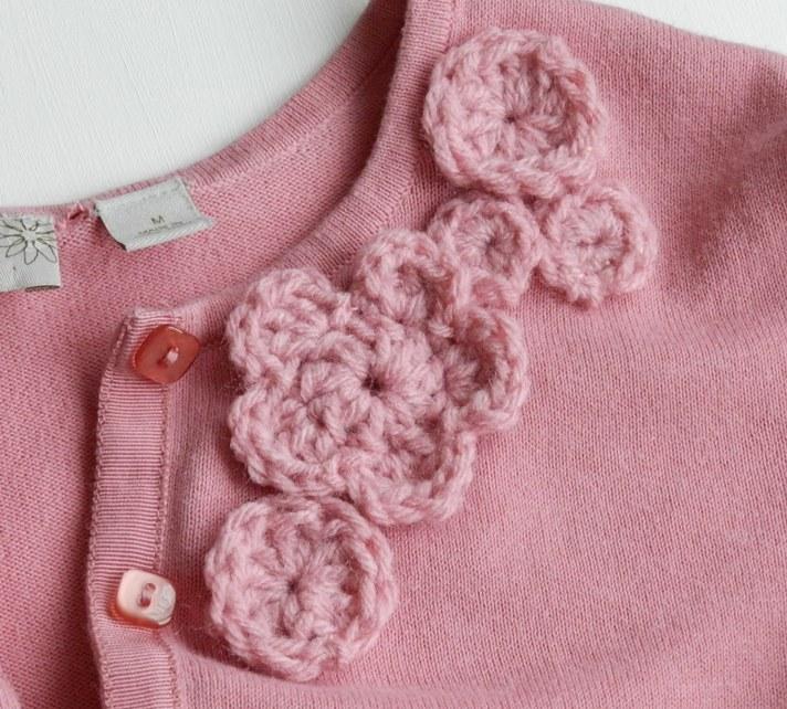 Grow Creative Blog: Up-cycled Pink Cardigan