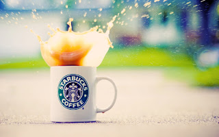 Starbucks Coffee Cup Coffe Splash Nice Photography HD Wallpaper