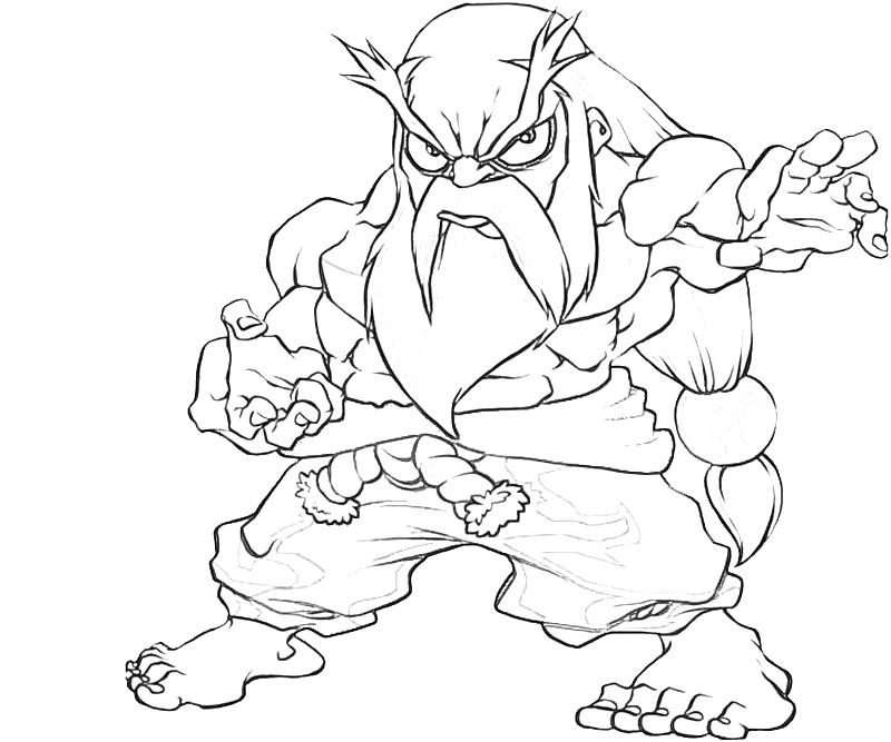printable-gouken-chibi-coloring-pages