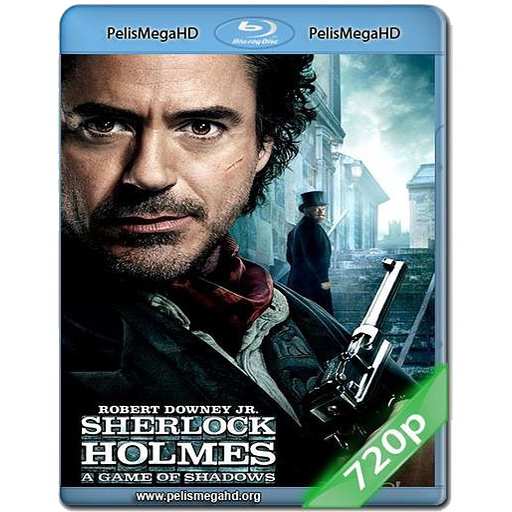 SHERLOCK HOLMES 2 (2011) 720P MKV HD ESPAÑOL LATINO