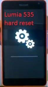 nokia lumia 535 hard reset