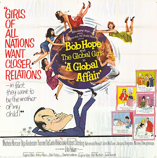 Large 6 sheet American film poster for A Global Affair