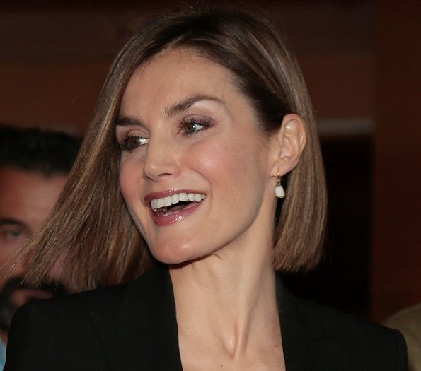 Queen Letizia And King Felipe Visit Forum Impulsa 2015