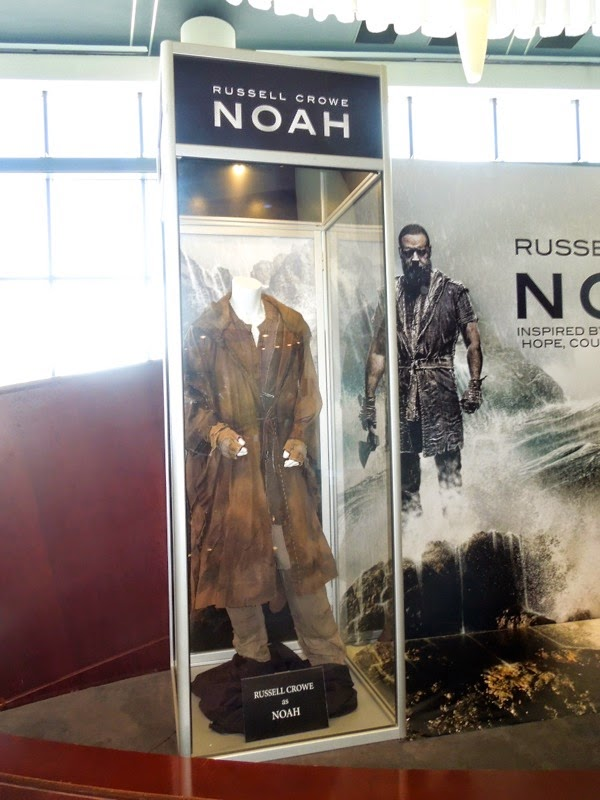 Russell Crowe Noah movie costume