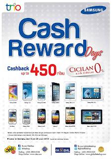 Promo Cash Rewards Samsung Hingga Rp 450.000 di OkeShop
