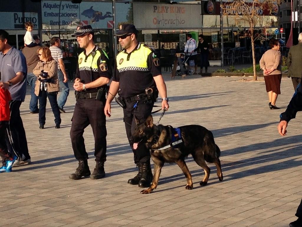policica canino en santa pola