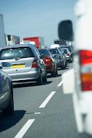 Tráfico denso y seguridad vial