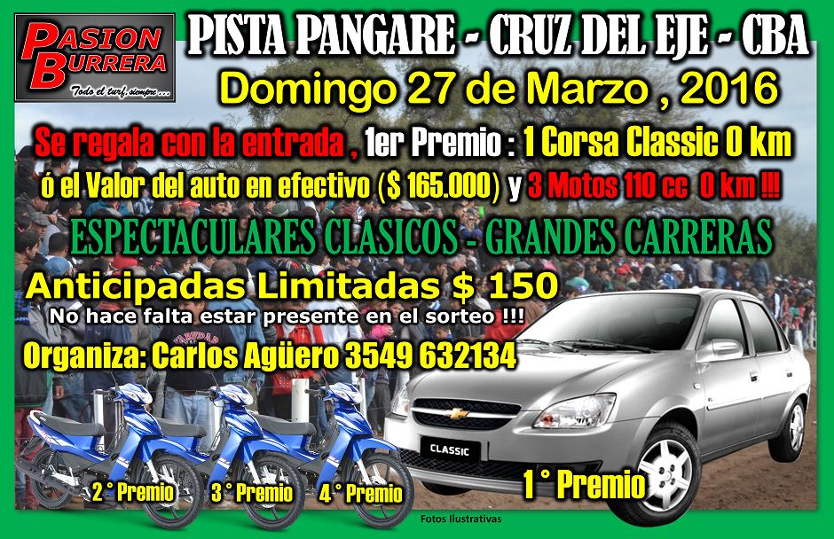 PANGARE - 27 DE MARZO