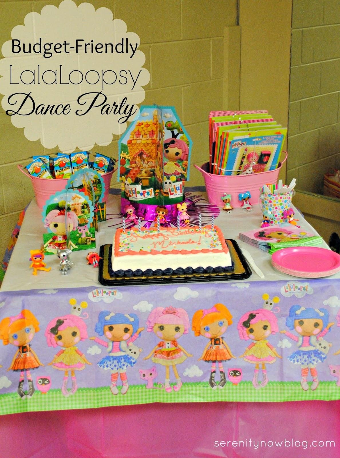 LalaLoopsy Ballet Birthday Party