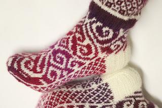 Tallulahs hjerte sokker