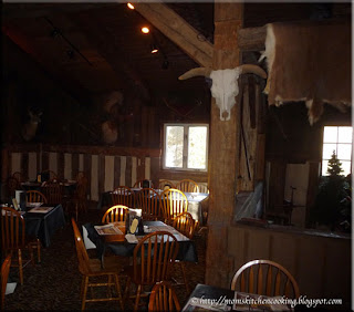 Fox and Hounds part of dining area on upper level