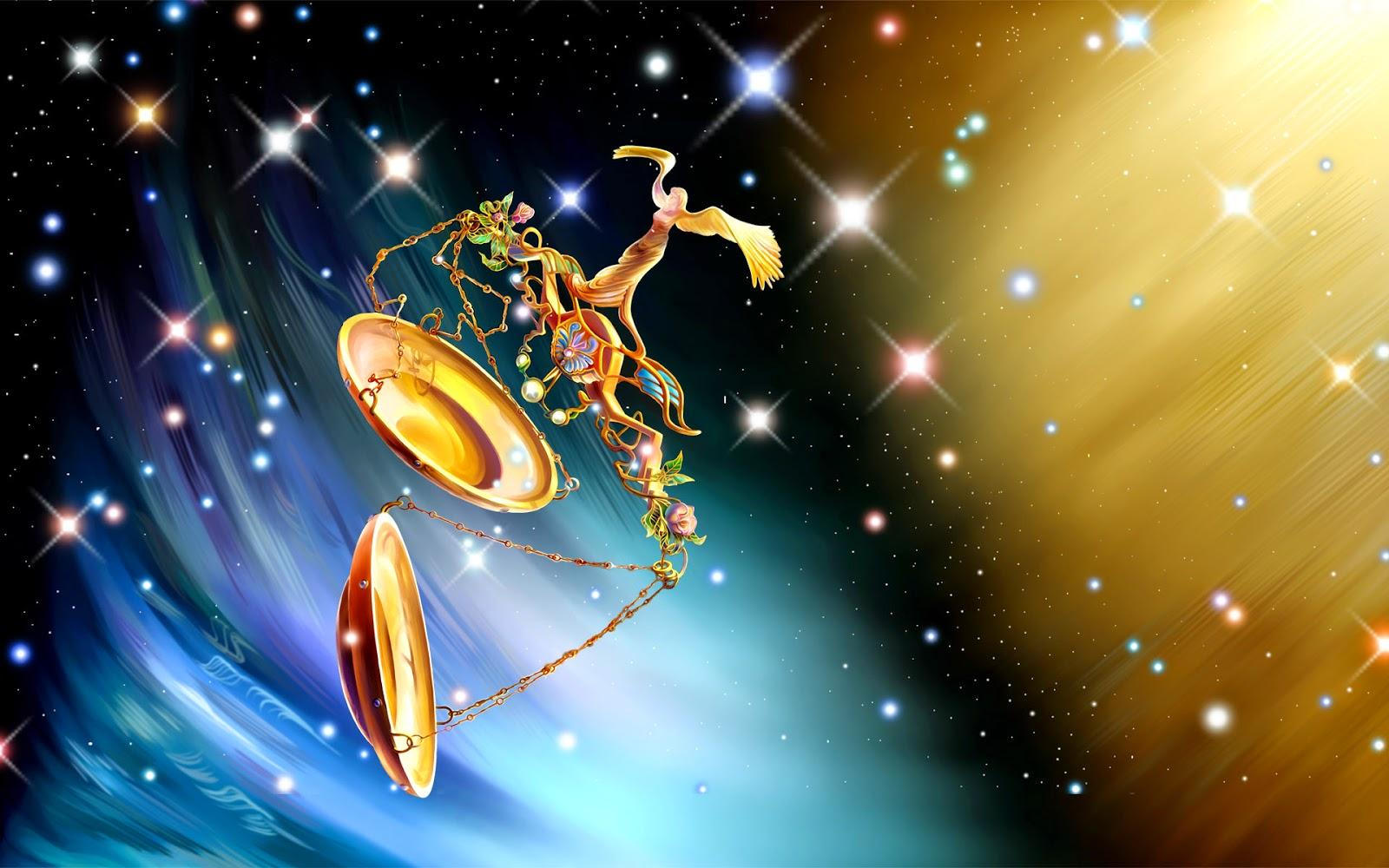 Signos Zodiacales en el espacio