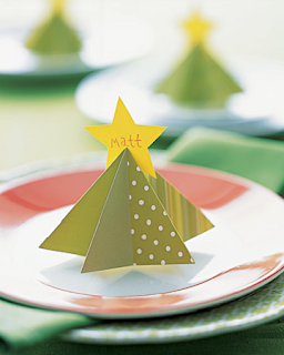 Marca Sitios para Navidad, Manualidades Faciles