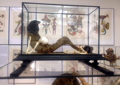 Historia Naturae, Suite room in the Jan Švankmajer exhibition