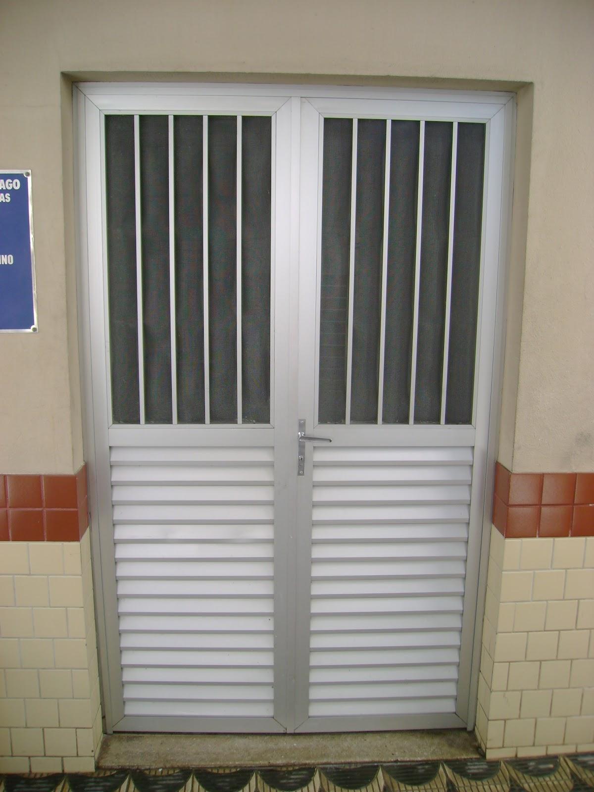 #744530 METALPLAST Esquadrias Forros e Divisórias: Porta de alumínio 4414 Janela Aluminio Maxim Ar Serie 25