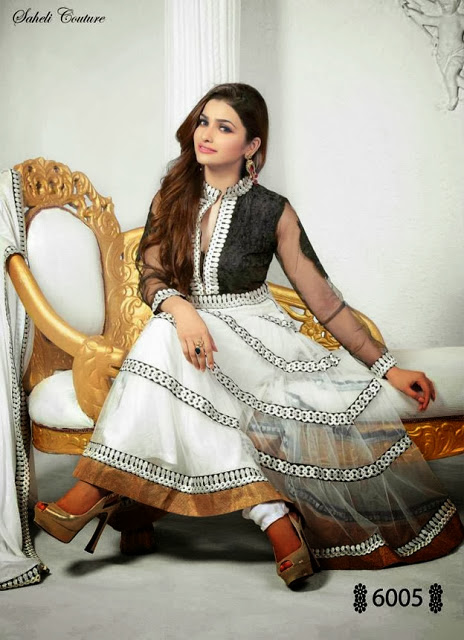 Frocks Collection by Saheli Couture 2013-14