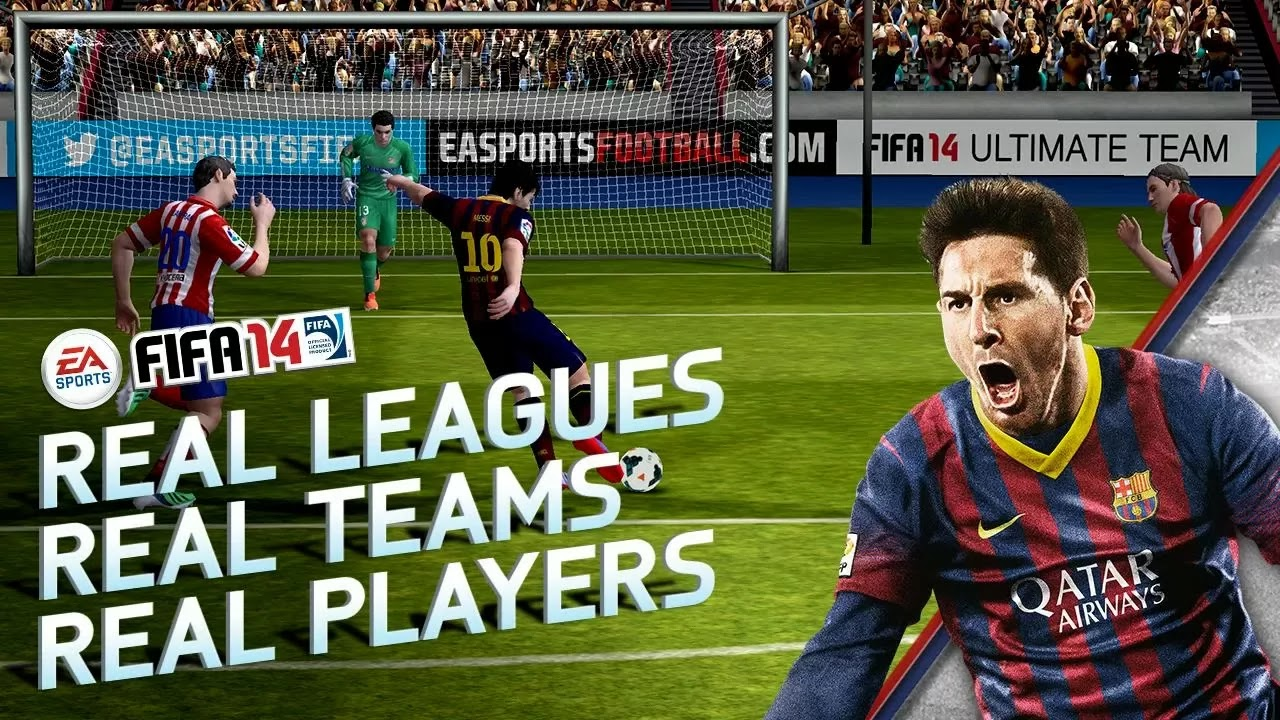 FIFA 14 by EA SPORTS™ v1.2.8 Apk + Data Full Android