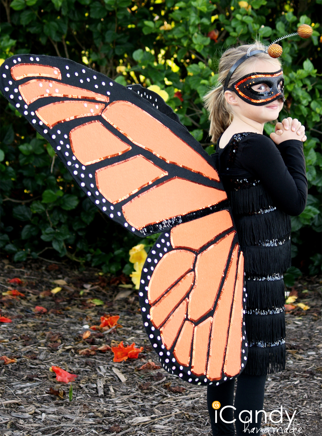 How to make butterfly costume wings - photo#13