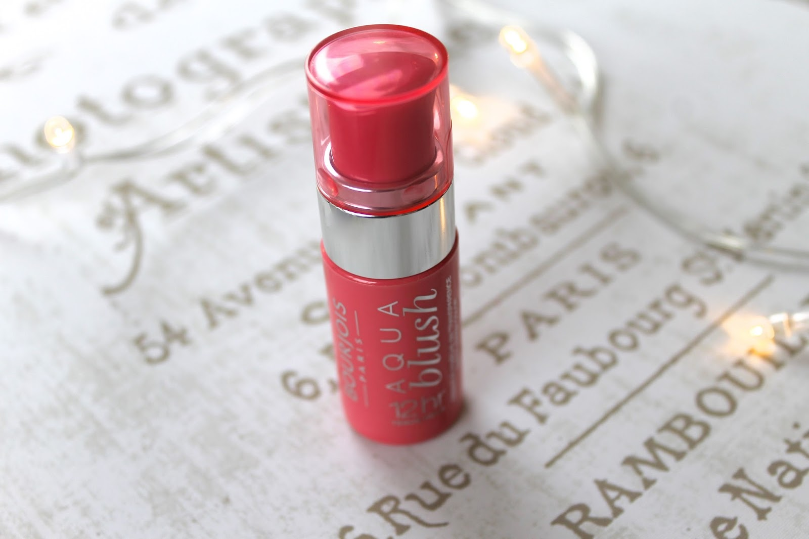 Bourjois aqua blush blog review