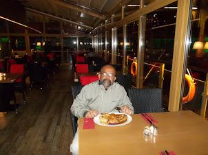 "Last dinner in Prague :- Roasted Duck at ""Charles Bridge restaurant"""