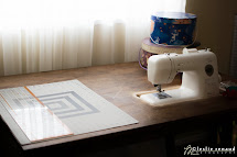Lucky Fox Recessed Sewing Table